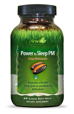 Power to Sleep PM® 6mg Melatonin 60 Liquid Soft-Gels