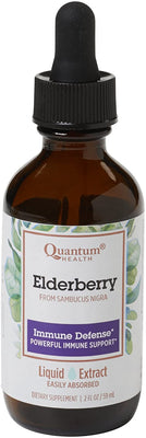 Elderberry Liquid Extract, Dietary Supplement to Boost Immunity, 2 Oz