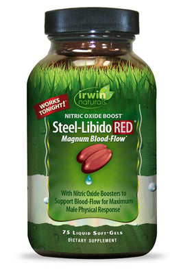 Steel-Libido RED® 75 Liquid Soft-Gels