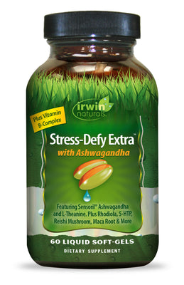 Stress-Defy Extra™ with Ashwagandha 60 Liquid Soft-Gels