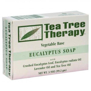 Tea Tree Therapy Eucalyptus Soap, Vegetable Base - 3.5 Ounces