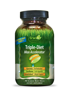 Triple-Diet Max Accelerator® 72 Liquid Soft-Gels