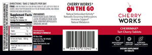 Cherry Works® CherriMax® Tart Cherry Tablets (60 tablets)
