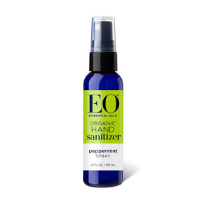 EO Organic Hand Sanitizer Spray - Peppermint 2oz