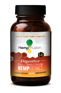 Digestive Phytocomplex Hemp Extract Bottle
