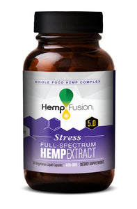 Stress Phytocomplex Hemp Extract Bottle
