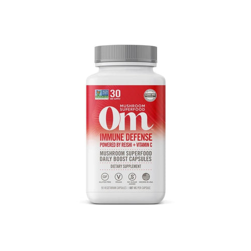 Om Mushrooms Immune Defense 90 Vcaps