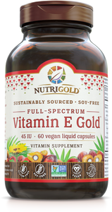 Vitamin E Gold 60 Vegan Liquid Capsules
