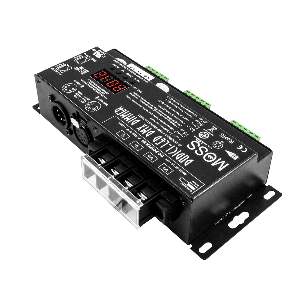 Dodici-LED DMX - 12 Channel Dimmer Constant Voltage