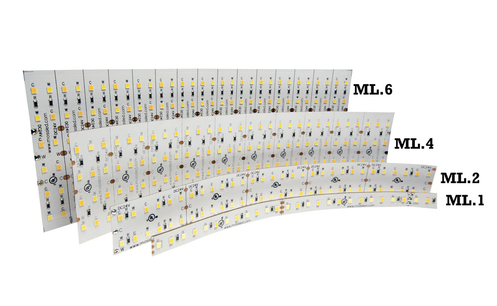 ML4 Panel FlexLED Indoor 250MM Bare end wires