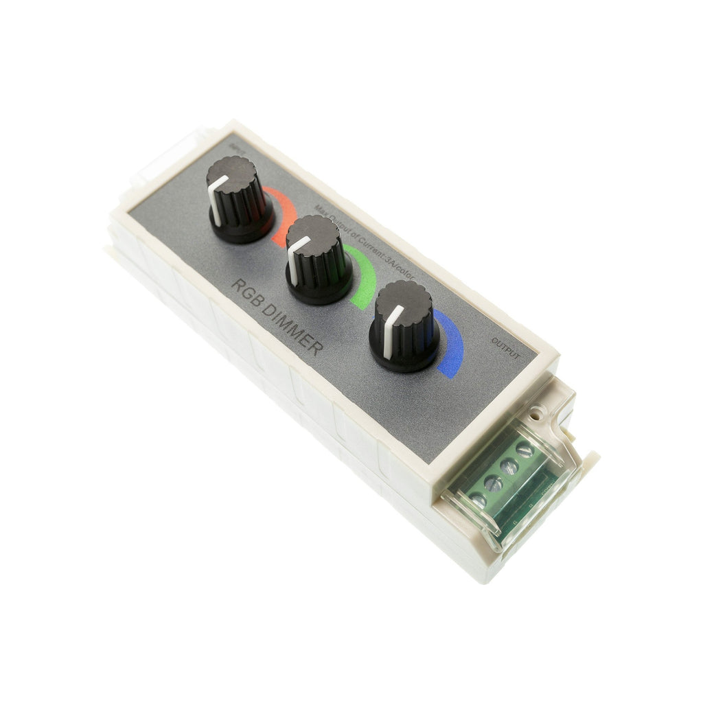 Three Channel RGB Rotary Dimmer 2kHz