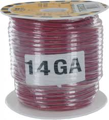 TEW 14AWG 98'(30M) RED