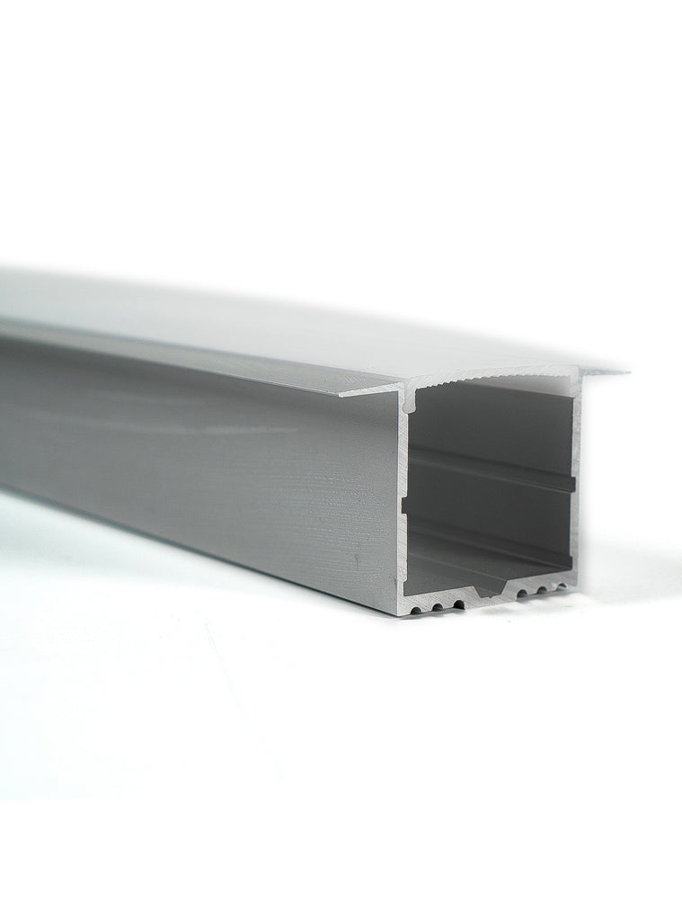 Z-5535-1 Channel Anodized 55x35 Flush Recessed 2.44m
