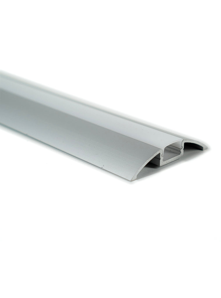 Z-5611 Channel Anodized 56x11mm Floor Accent 2.44m