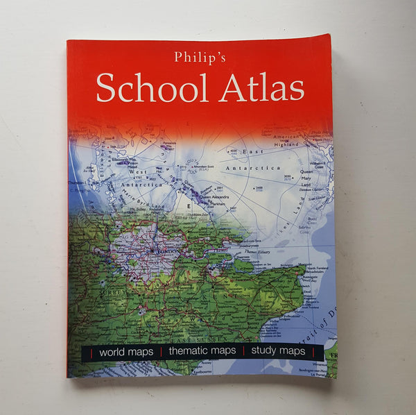 Philip's School Atlas by Uncredited