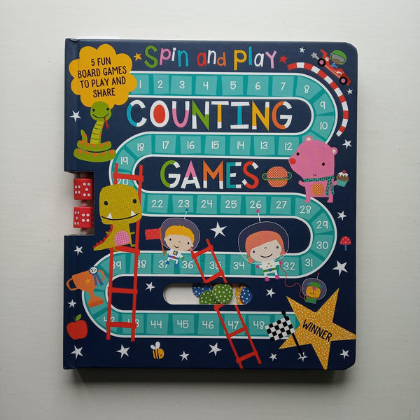 Spin and Play Counting Games by Uncredited