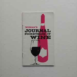 The Woman's Journal Pocketbook of Wine by John Baker White