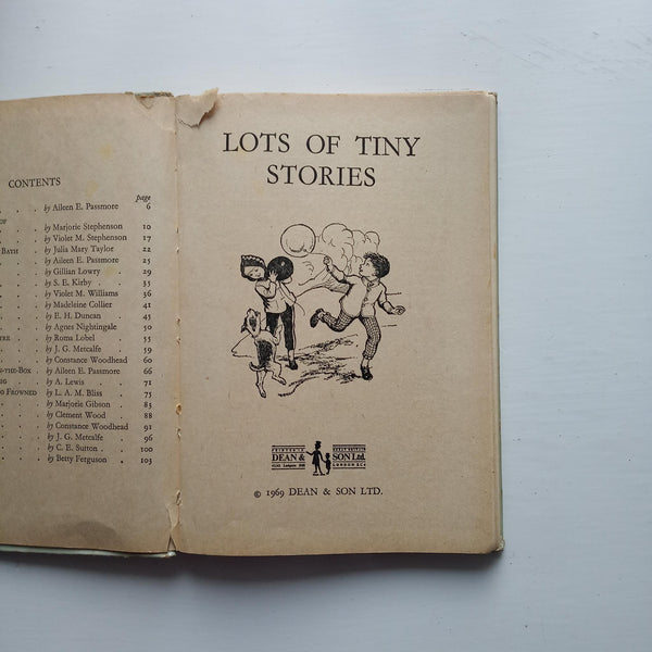 Lots of Tiny Stories by Various