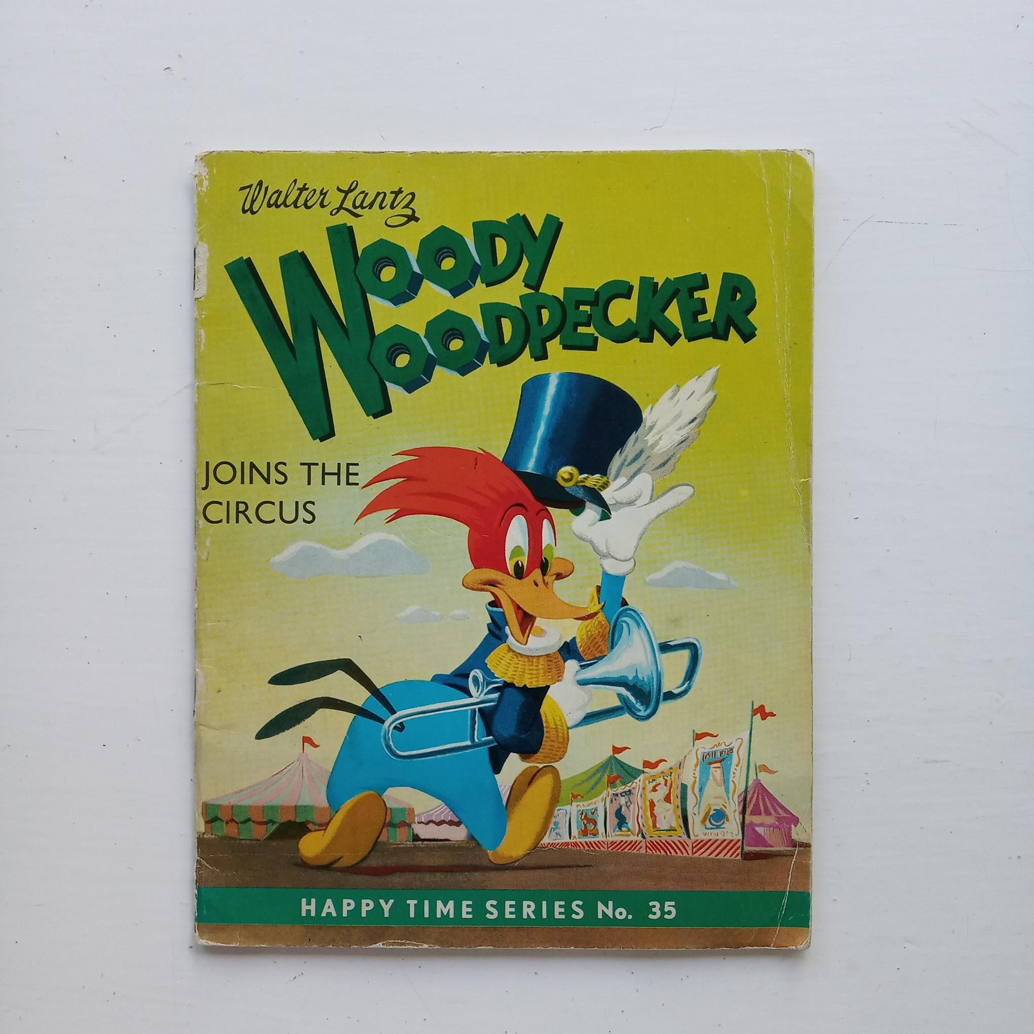 Woody Woodpecker Joins the Circus by Walter Lantz
