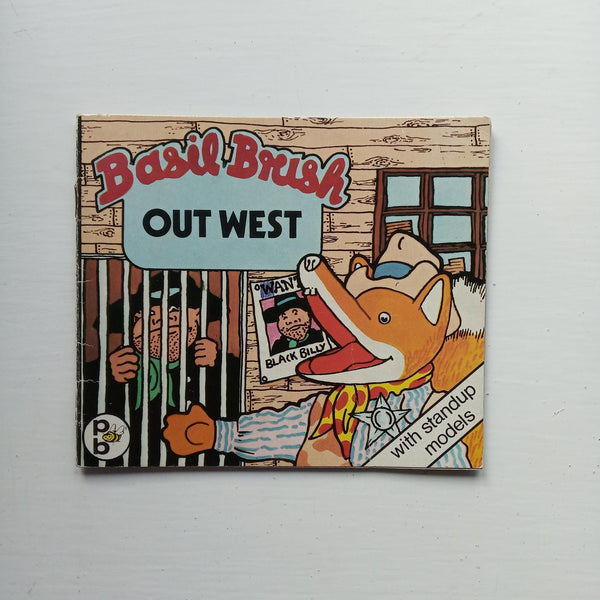 Basil Brush Out West by Mick Wells