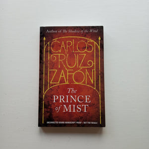 The Prince of Mist by Carlos Ruiz Zafon