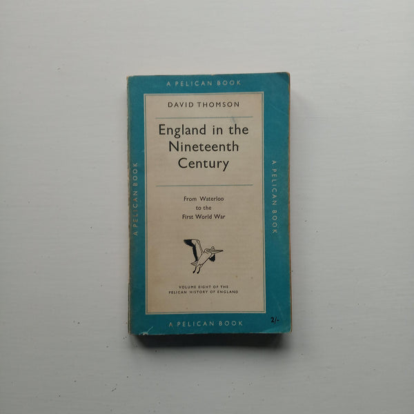England in the Nineteenth Century by David Thomson