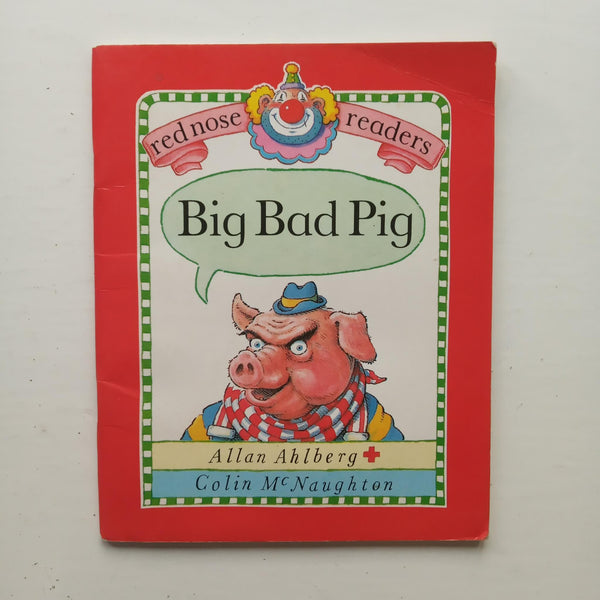Big Bad Pig by Allan Ahlberg