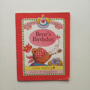 Bear's Birthday by Allan Ahlberg