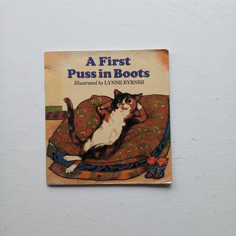 A First Puss in Boots by Anne Mangan