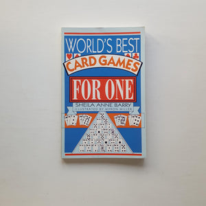 World's Best Card Games for One by Sheila Anne Barry