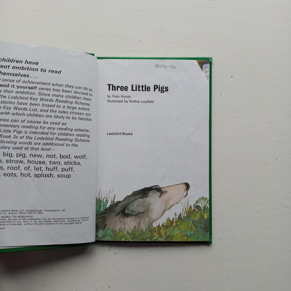 Three Little Pigs by Fran Hunia