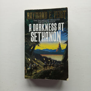 A Darkness at Sethanon by Raymond E. Feist