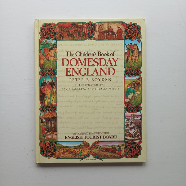 The Children's Book of Domesday England by Peter B. Boyden
