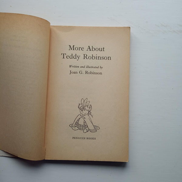 More about Teddy Robinson by Joan G Robinson