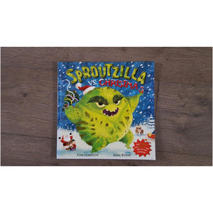 Sproutzilla vs Christmas by Tom Jamieson