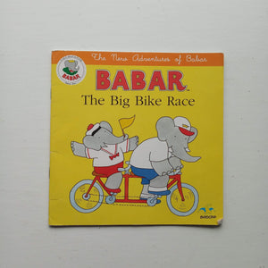 Babar The Big Bike Race by Uncredited