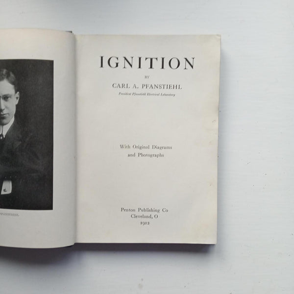 Ignition by Carl A. Pfanstiehl