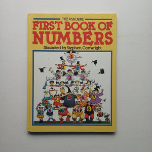 The Usborne First Book of Numbers by Angela Wilkes and Claudia Zeff