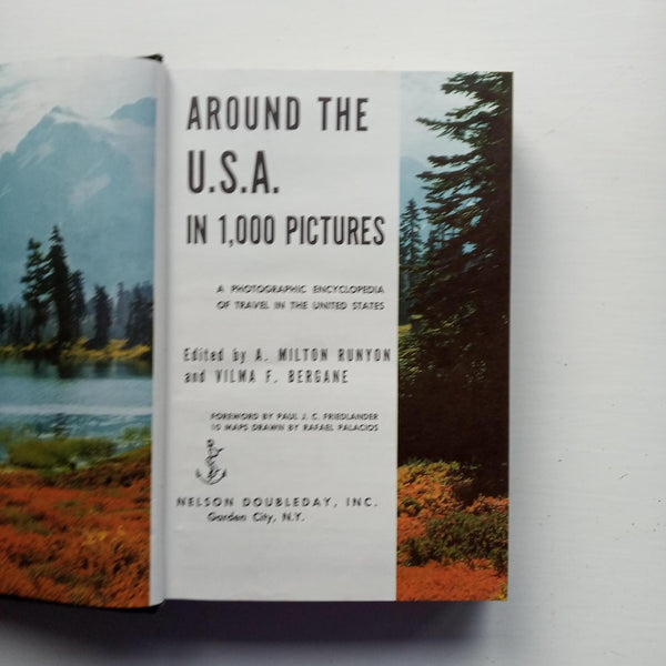 Around the USA in 1000 Pictures by A. Milton Runton and Vilma F. Bergane (eds)