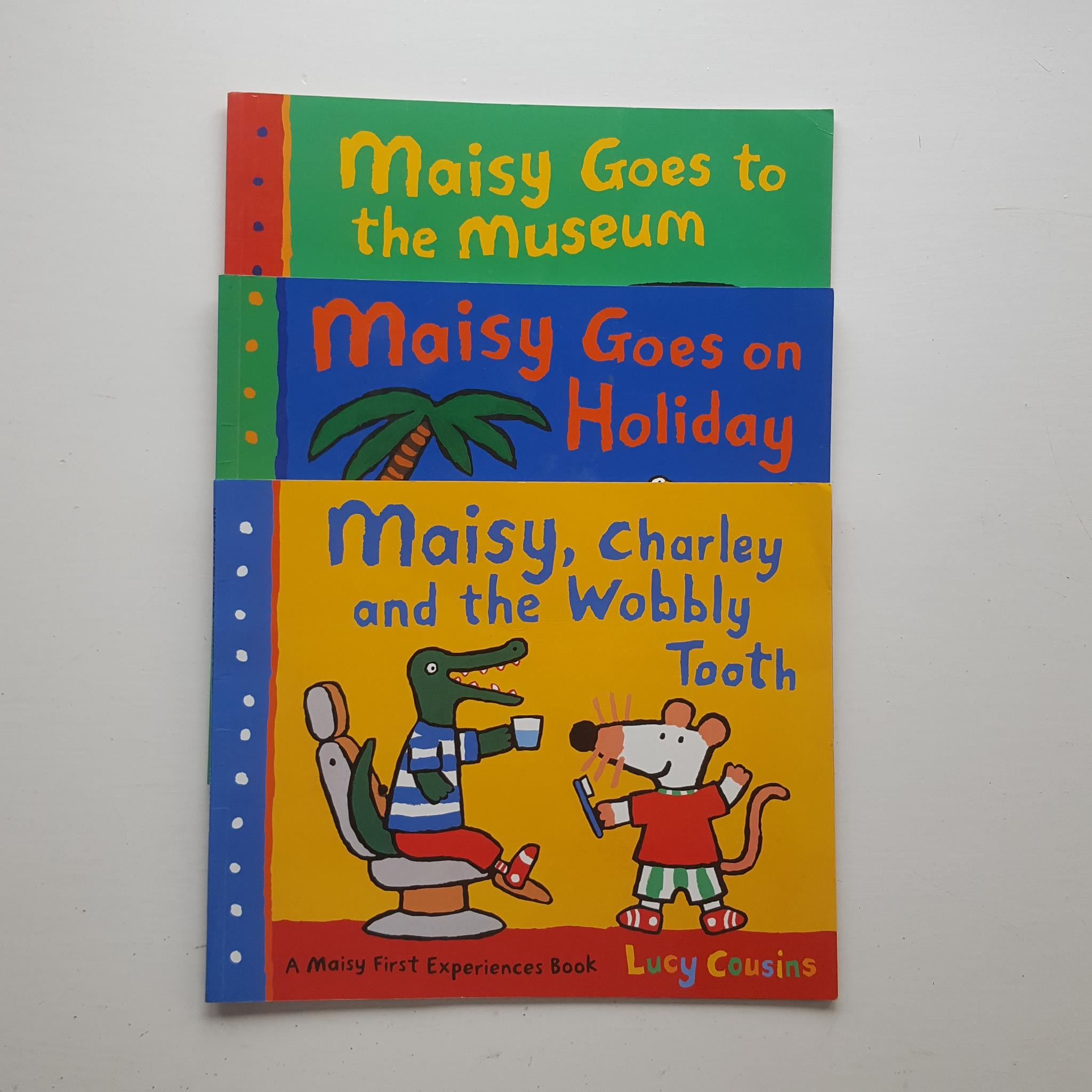 Three Maisy First Experiences Books by Lucy Cousins