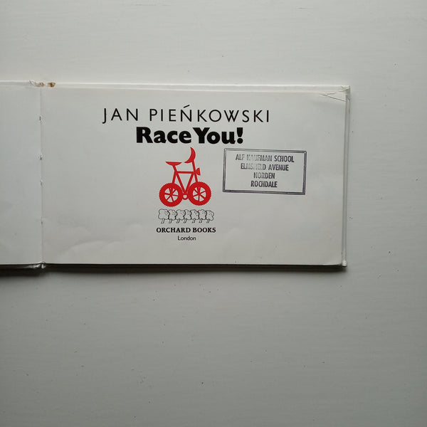 Race You! by Jan Pienkowski