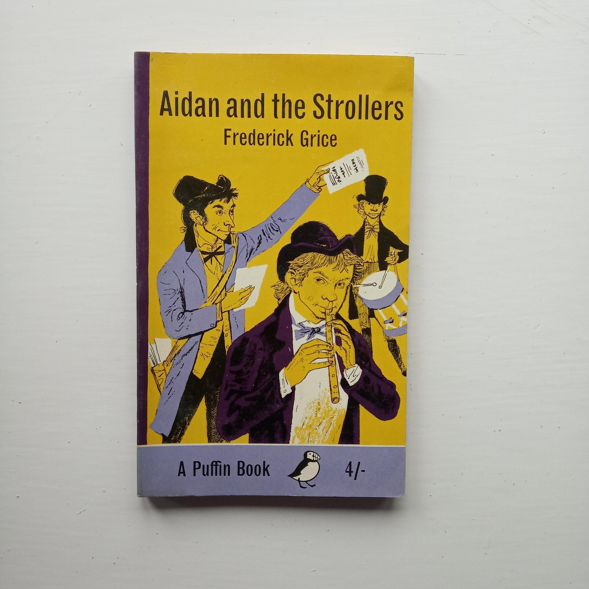 Aidan and the Strollers by Frederick Grice