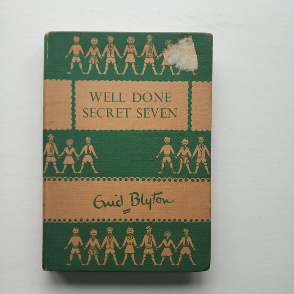 Well Done Secret Seven by Enid Blyton