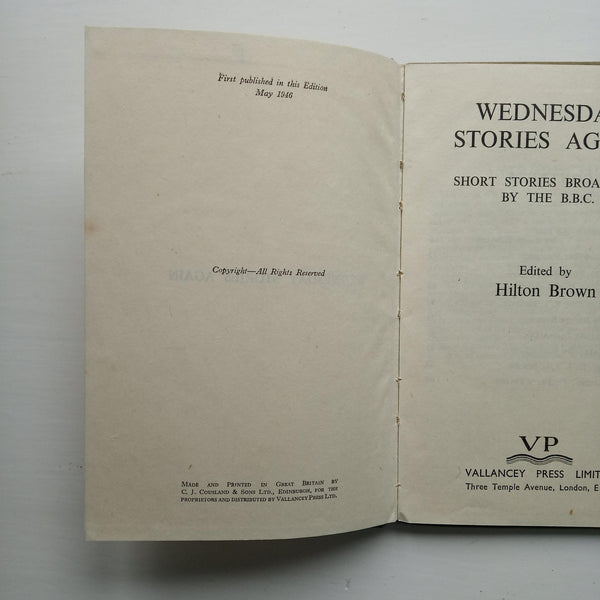 Wednesday Stories Again by Hilton Brown (ed)