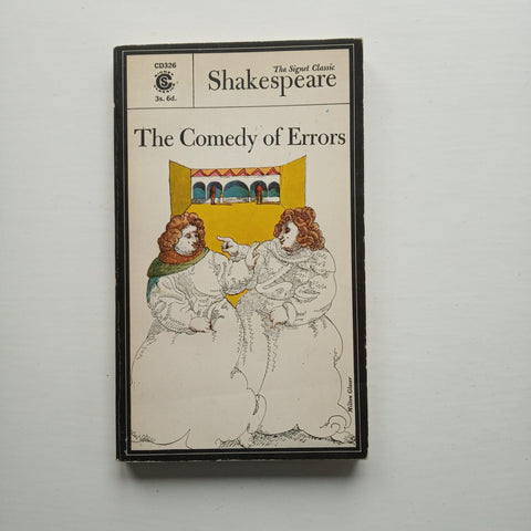 The Comedy of Errors (Signet Classic Shakespeare) by William Shakespeare