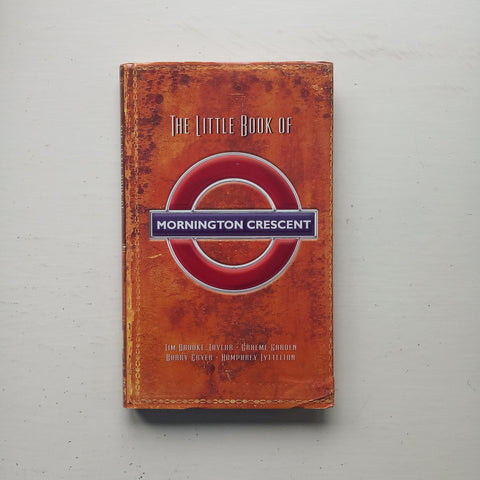 The Little Book of Mornington Crescent by Graeme Garden, Jon Naismith and Iain Pattinson