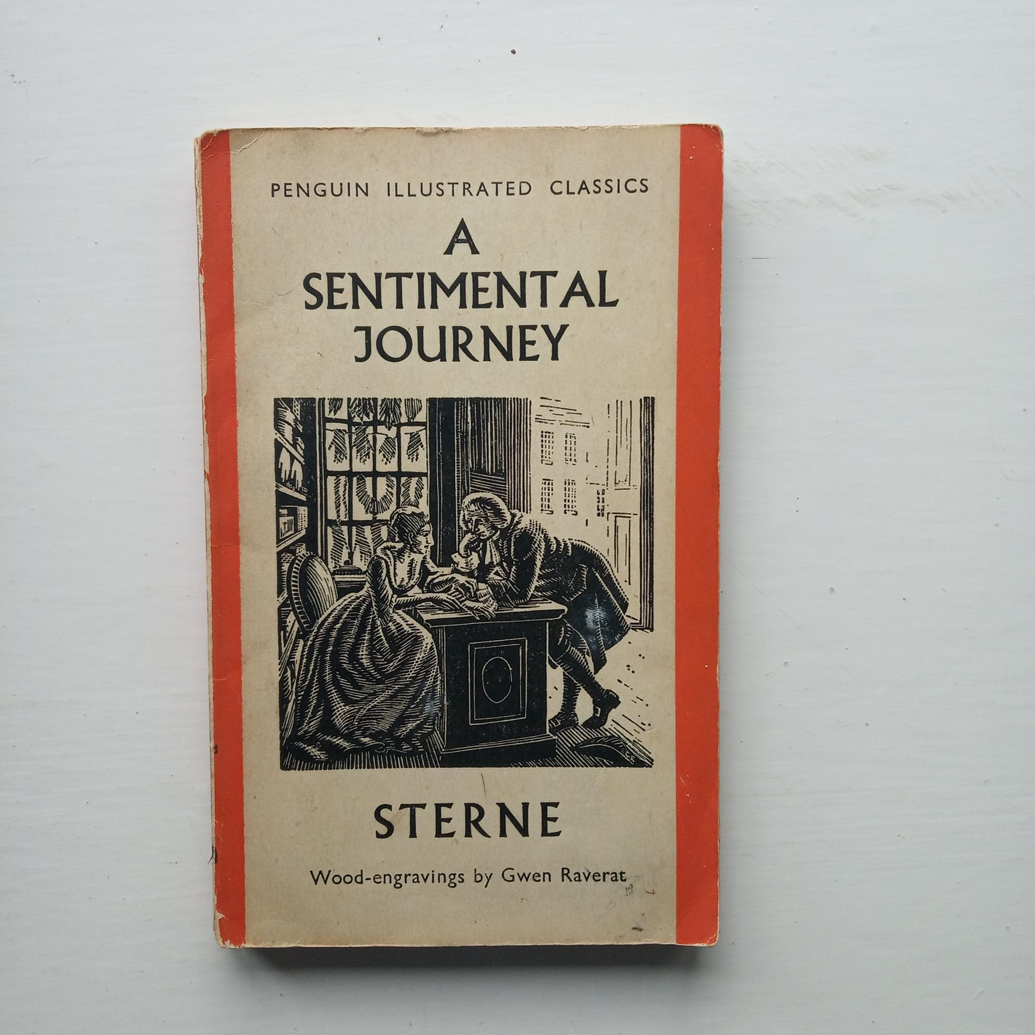 A Sentimental Journey Through France and Italy by Laurence Sterne