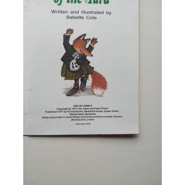 Basil Brush of the Yard by Babette Cole