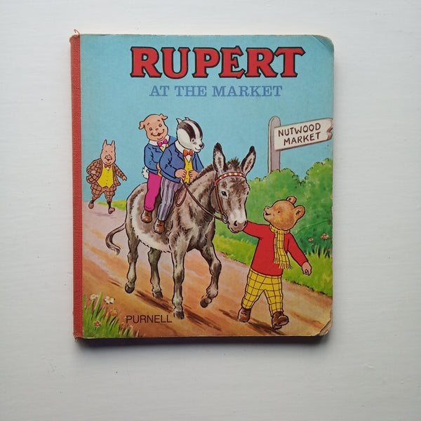 Rupert at the Market by Uncredited