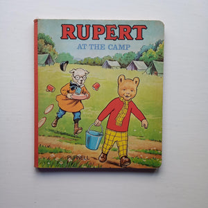 Rupert at the Camp by Beaverbrook Newspapers